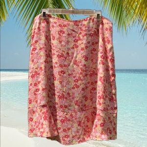 Norton McNaughton Floral Skirt